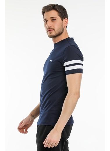 Slazenger Slazenger MANAGE Erkek T-Shirt  Lacivert